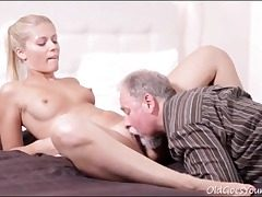 aged young,pussy eating,small funbags