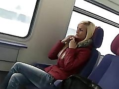 uber-cute german chick intercourse on public transport