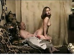 Elderly stud youthfull lady plumb Retha from 1fuckdatecom