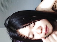 Lovely Asian GF's grubby sex, blow job, body eating
